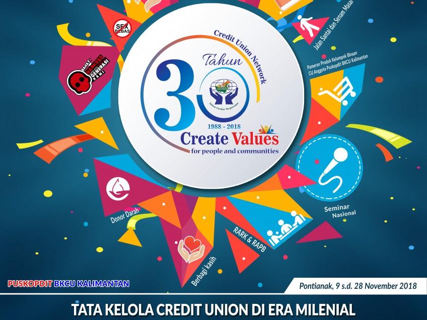 30 Tahun BKCU Kalimantan