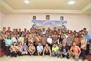 Bersama PUSKOPDIT BKCU Kalimantan, Koperasi Credit Union Sumber Rejeki semakin siap dalam bidang perkreditan