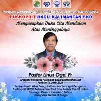 "In Memoriam Pastor Linus Oge, Pr., ""Rohaniawan dan Pegiat Credit Union"""