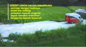 Pertama Di Gerakan Puskopdit BKCU Kalimantan Skd, Koperasi Dengan Pelayanan Mobil Kas Keliling Online