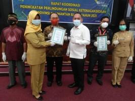 Puskopdit BKCU Kalimantan Raih Peringkat I Paritrana Award 2020 Tingkat Provinsi