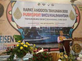 """RAT Puskopdit BKCU Kalimantan Tahun Buku 2018 """"Rekindling Raiffeisen's Ideologies in Credit Union On Millenial Era"""""""