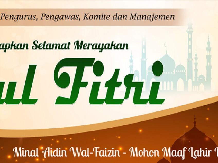Selamat Merayakan Idul Fitri