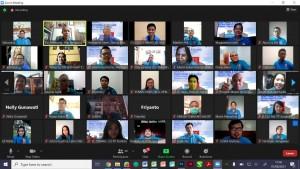 Sukses, Monev Virtual Pertama CU Stella Maris