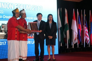 The first from Indonesia! CU Sauan Sibarrung menerima Akreditasi ACCESS BRANDING