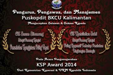 Sukses selalu dan motivasi bagi CU anggota BKCU Kalimantan lainnya