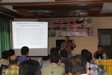 BKCU Kalimantan mengadakan Lokakarya Community Development